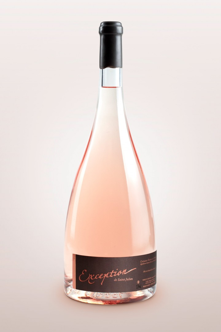 Exception de St Julien Rosé 2015, 150cl