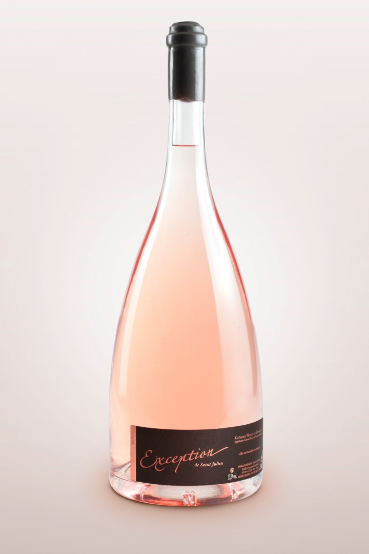 Exception de St Julien Rosé 2018, 300cl Jéroboam